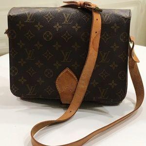 Louis Vuitton Monogram Cartouchiere Shoulder Bag